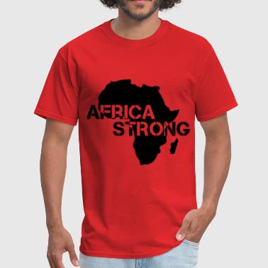 Nelson Mandela Africa Strong - Men's T-Shirt