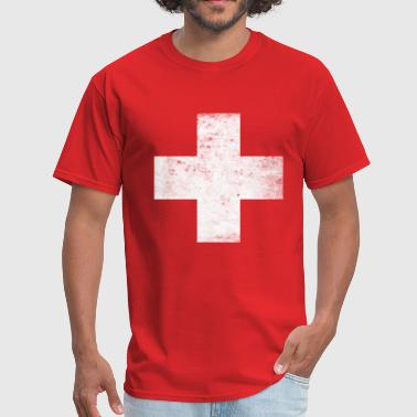 First Aid lifeguard_first_aid_red_cross - Men's T-Shirt