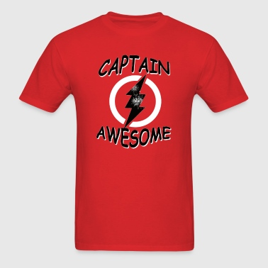 CAPTAIN AWESOME Funny Humor - Men's T-Shirt