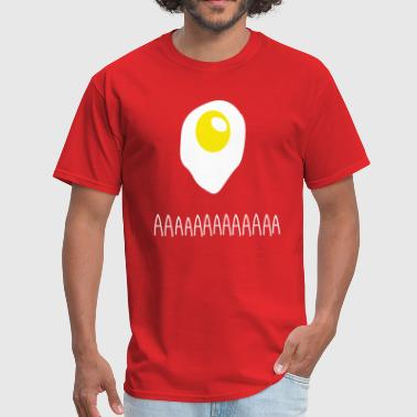 Existential Fried Egg - Men's T-Shirt