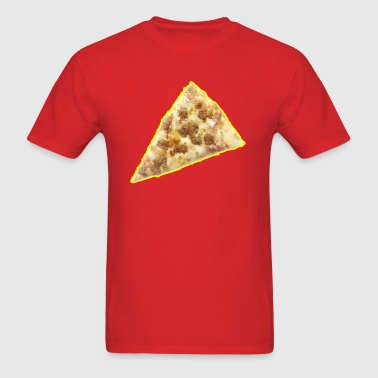 Pizza - Food - Cheese - Sausage - Cool - Men's T-Shirt