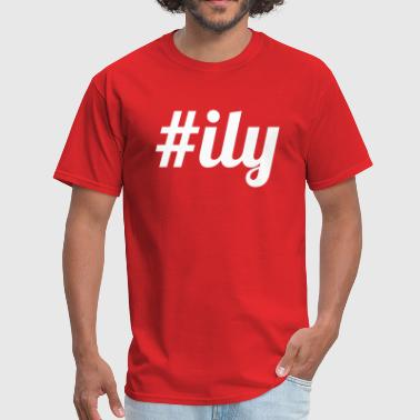 Ily #ily - Men's T-Shirt