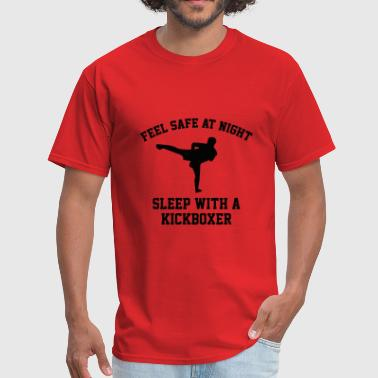 Sleep With A Kickboxer - Men's T-Shirt