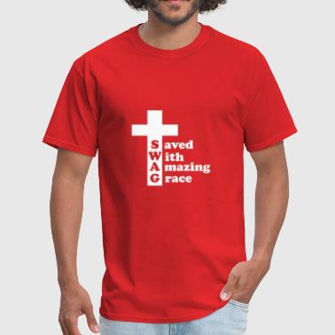Jesus Swag SWAG Cross T-shirt - Men's T-Shirt