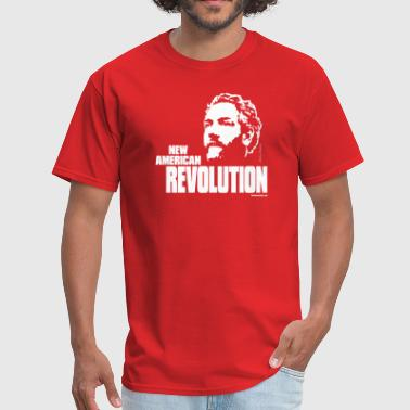 Andrew Breitbart Breitbart - New American Revolution - Red shirt - Men's T-Shirt