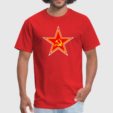 Soviet - star hammer - Men's T-Shirt