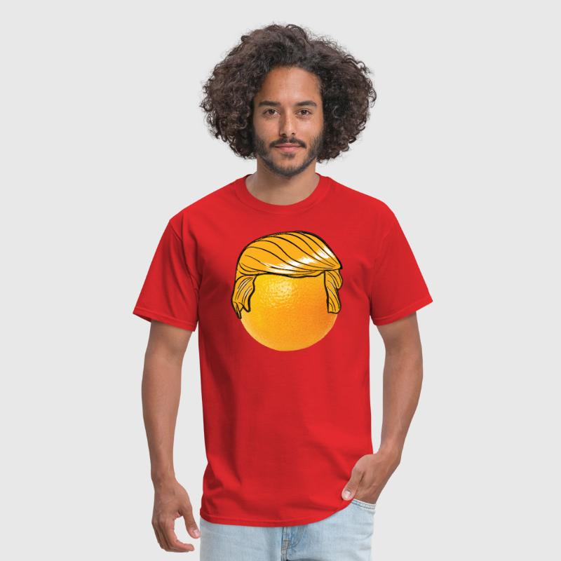 Funny Orange Donald Trump 2016 Hair - Men's T-Shirt