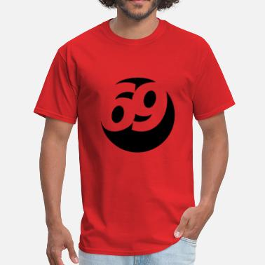 69 69 Ball - Men's T-Shirt