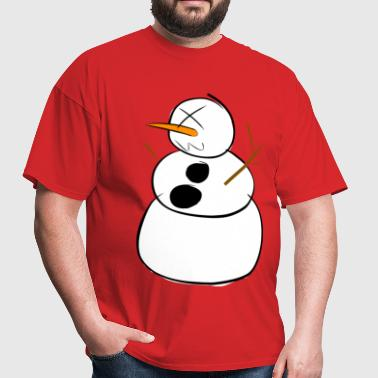 Obsanity winter logo - Men's T-Shirt