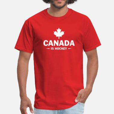 Eh CANADA IS HOCKEY - Men's T-Shirt
