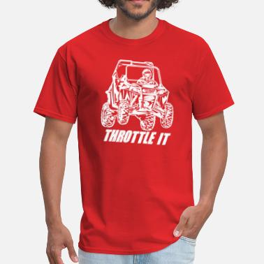 Utv Enduro UTV Racer Throttle It - Men's T-Shirt
