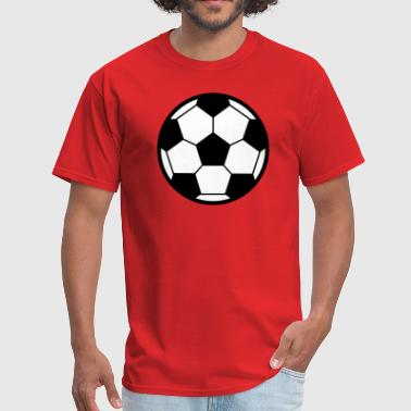 Football / Soccerball Icon - Men's T-Shirt
