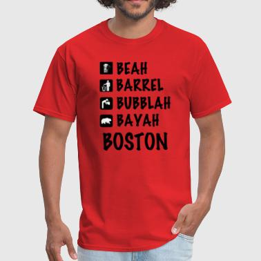Cute Boston Apparel Funny Cute Boston Accent Dialect T-Shirt Shirts T - Men's T-Shirt