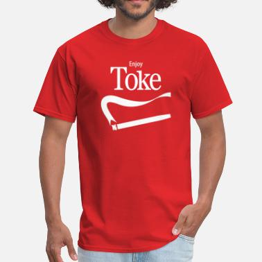 Spliff Enjoy Toke - Men's T-Shirt