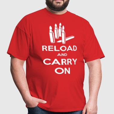 Reload and Carry On - Men's T-Shirt