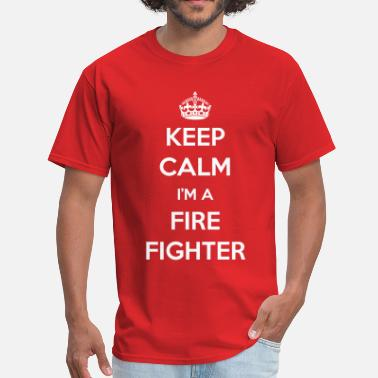 Careers-professions-hoodies-sweatshirts KEEP CALM I'M A FIREFIGHTER - Men's T-Shirt