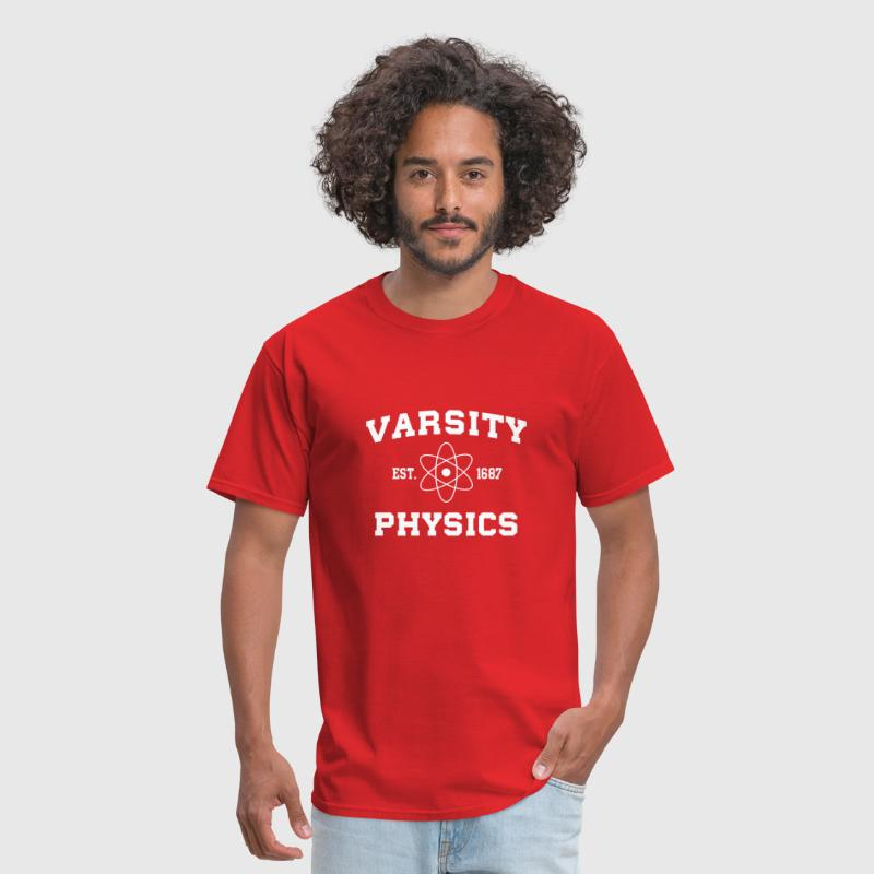 Varsity Physics - Men's T-Shirt