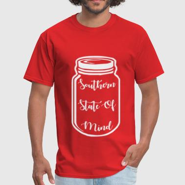 Southern State of Mind  ©WhiteTigerLLC.com  	 # - Men's T-Shirt