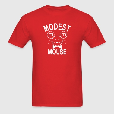 Modest Mouse Rock Band Black Hooded  - Men's T-Shirt