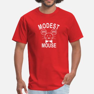 Modest Mouse Modest Mouse Rock Band Black Hooded  - Men's T-Shirt
