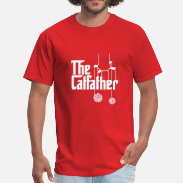 The Catfather the catfather - Men's T-Shirt