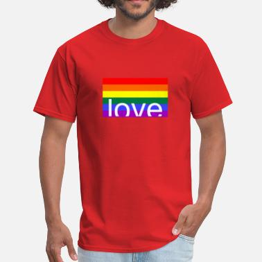 Gay Tit love gay - Men's T-Shirt