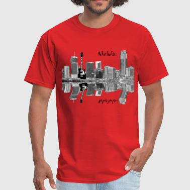WE BUILT THIS CITY ON ROCK AND ROLL - Men's T-Shirt