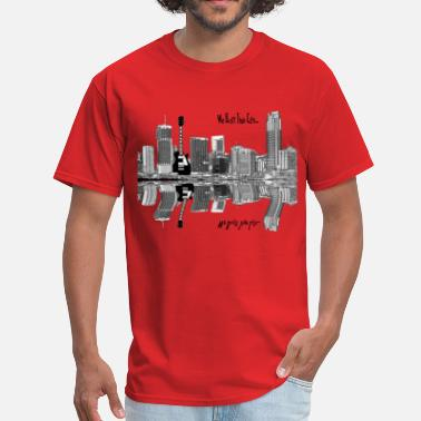 Radio City WE BUILT THIS CITY ON ROCK AND ROLL - Men's T-Shirt