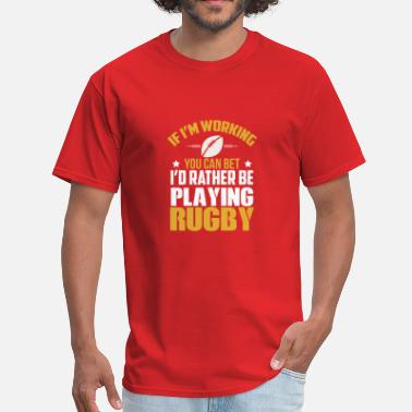 Rugby Lovers Great Gift Ideas For Rugby Lover. - Men's T-Shirt