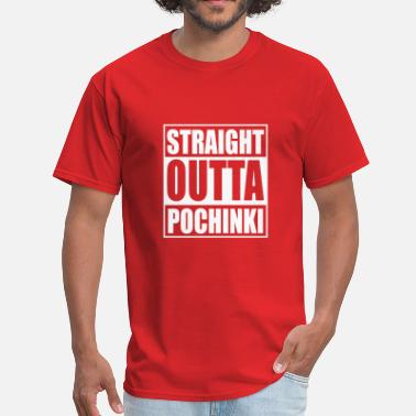 Straight Outta Pochinki straight outta pochinki - Men's T-Shirt