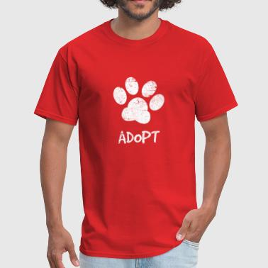 Dog Yoga Adopt Dogs Rescue Dogs Apparel - Men's T-Shirt
