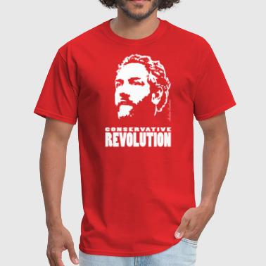 Andrew Breitbart Breitbart - Conservative Revolution - red - Men's T-Shirt