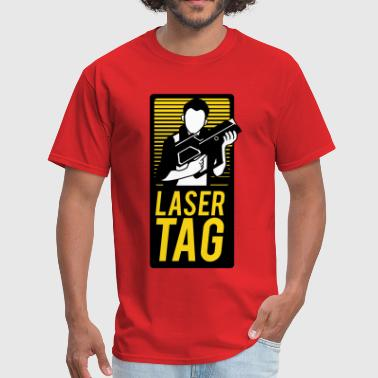 Laser Tag Sign - Men's T-Shirt