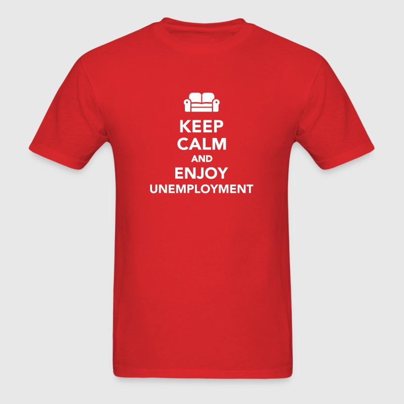 Unemployment - Men's T-Shirt
