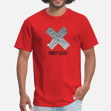 Tape Problem Solved Duct tape - Men's T-Shirt