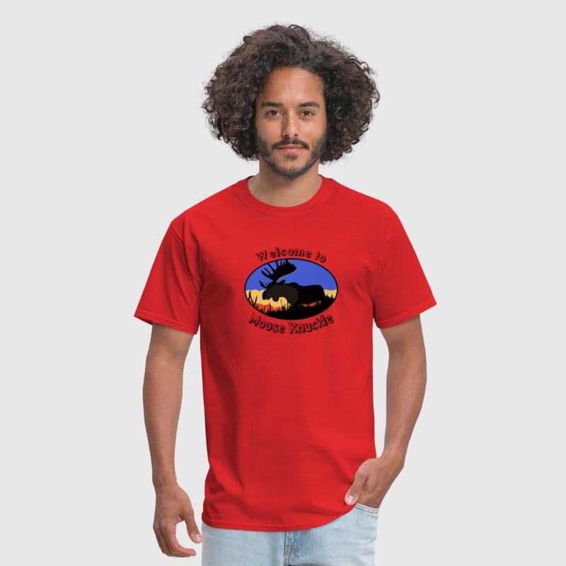 Hilarious Moose knuckle Design - Men's T-Shirt