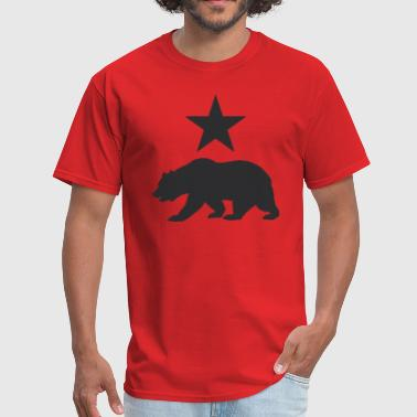 Bay Area California republic bear - Men's T-Shirt