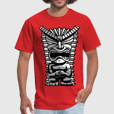 Grumpy Tiki Man - Men's T-Shirt