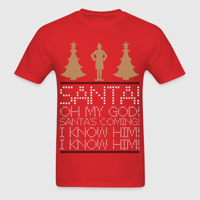 Elf christmas  - Men's T-Shirt