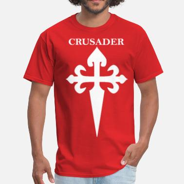 Red Crusades Knight - Men's T-Shirt