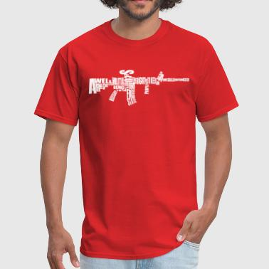 AR-15 Second Amendment Tee - Men's T-Shirt