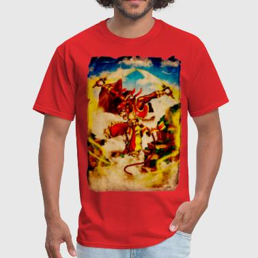 Kung Fu Monkey Monkey King - Men's T-Shirt