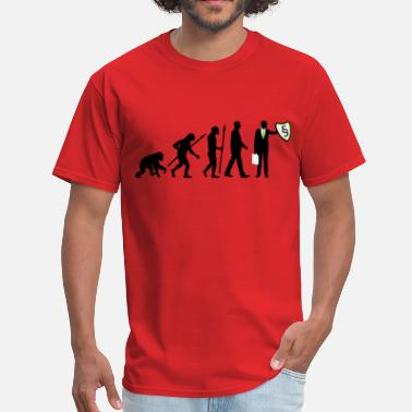 Lawyer Evolution evolution_lawyer_09_201602_3c - Men's T-Shirt