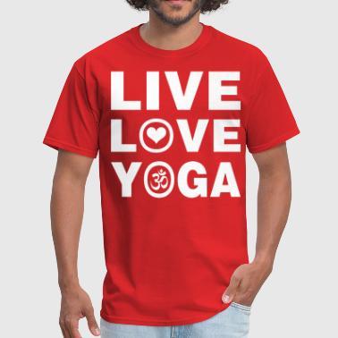 Live Love Yoga - Men's T-Shirt