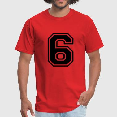 Number 6 Six - Men's T-Shirt