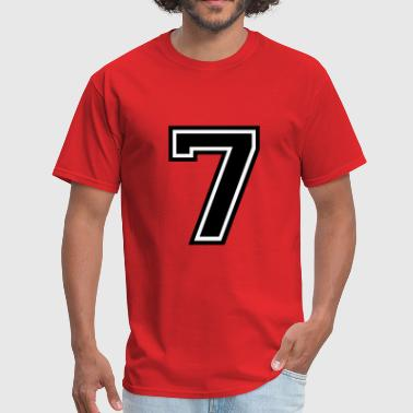 Number 7 Number 7 Seven - Men's T-Shirt