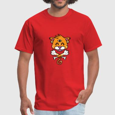 cat paw - Men's T-Shirt