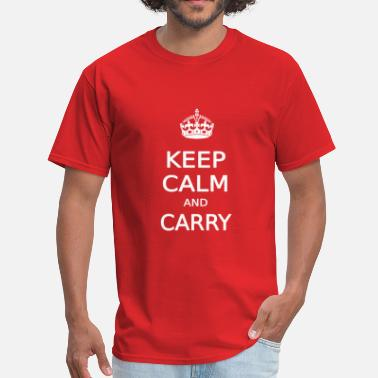 Carry KEEP CALM AND CARRY - Men's T-Shirt