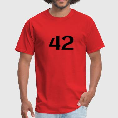 42: The Answer - Men's T-Shirt
