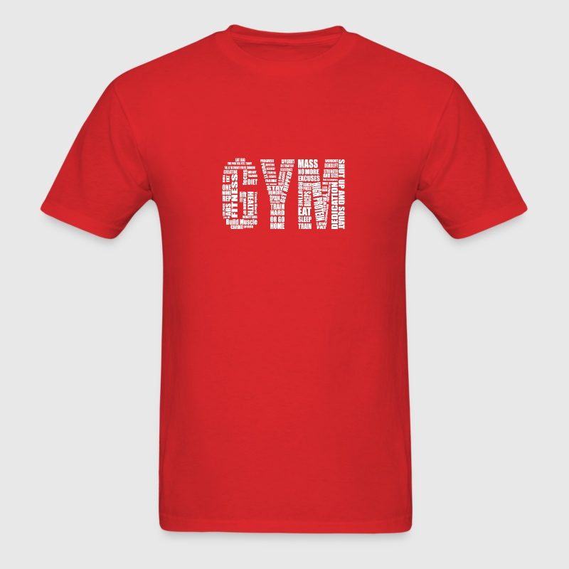 Gym Logo  - Men's T-Shirt